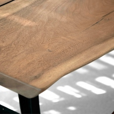 240cm Suar Planked Raw Edge Dining Table - Jackson