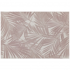 Patio Rug PAT21 Pink Palm