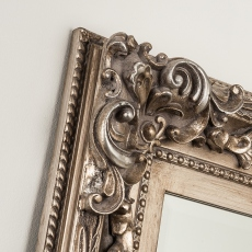 Madrid Leaner Mirror Silver