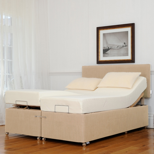 Tempur Ardennes - Deep Adjustable & Massage Divan Base