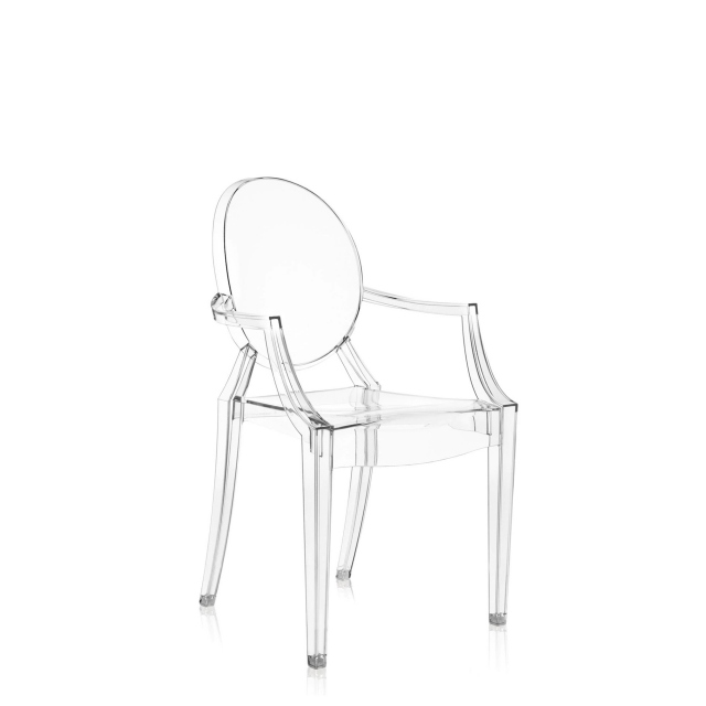 Louis Ghost Chair - Louis Ghost Chair Crystal