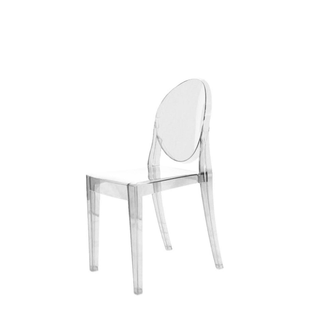 Victoria Ghost Chair - Victoria Ghost Chair Clear