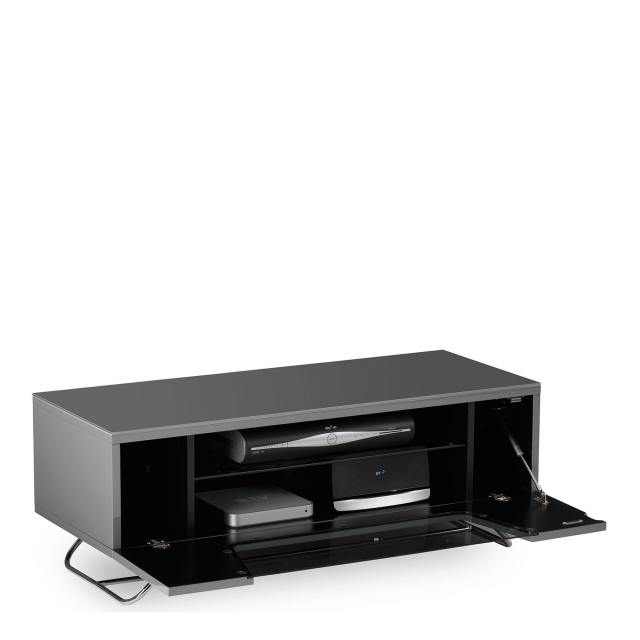 Omega - Chromium TV Unit Grey High Gloss