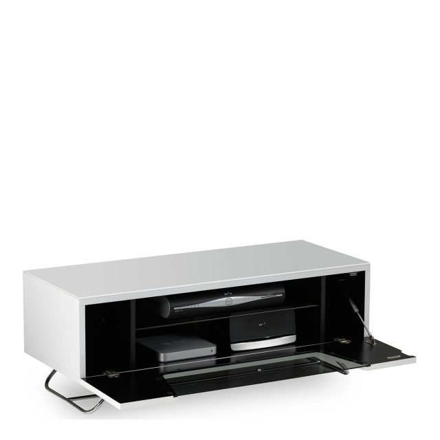 Omega - Chromium TV Unit White High Gloss