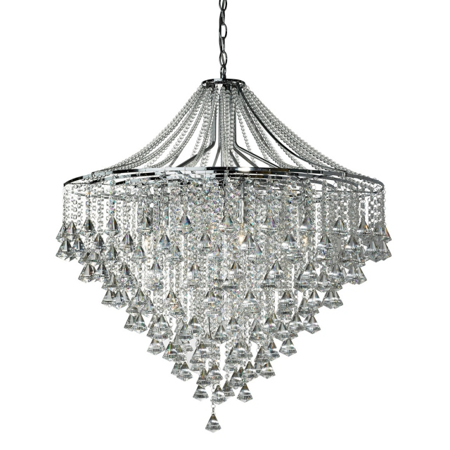 Grosvenor Crystal 7 Light Pendant