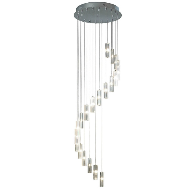 Fibinaccci 20 Light Pendant