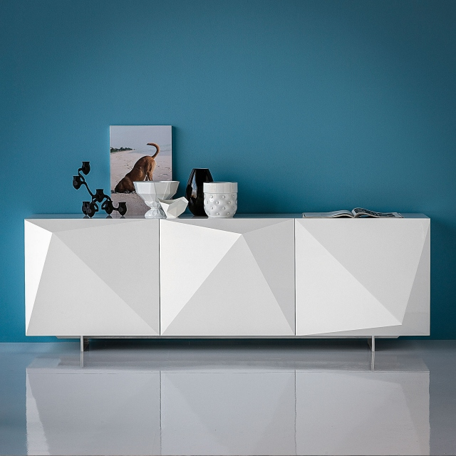 Cattelan Italia Kayak - 220x53x73h Sideboard In White