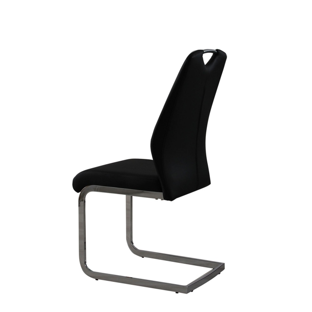 Helios - Dining Chair In Black