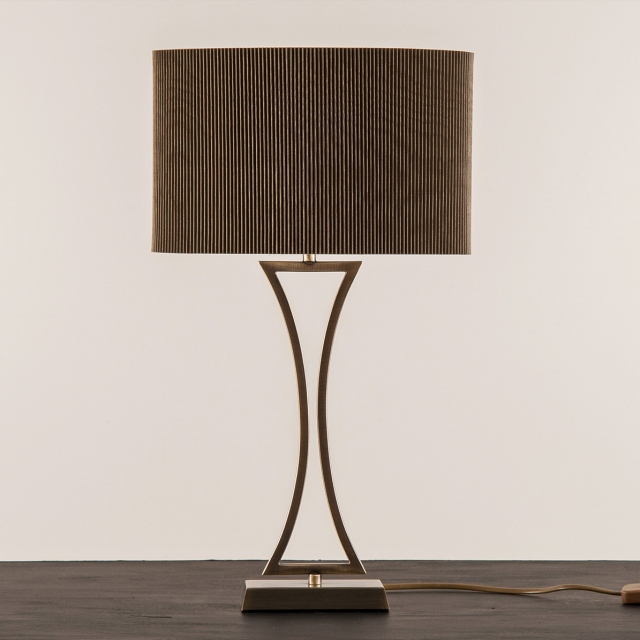 Oporto Table Lamp Antique Brass