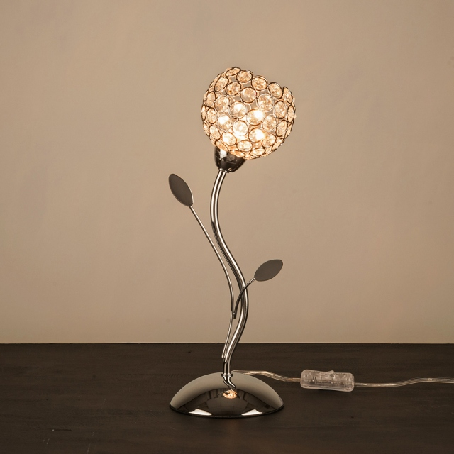 Berrie Table Lamp Chrome