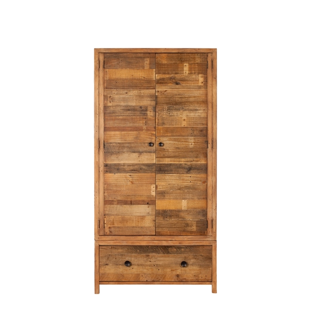 2 Door Robe Reclaimed Timber - Delta