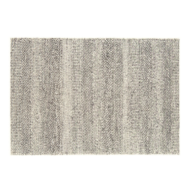 Coast Rug Grey Marl Stripe