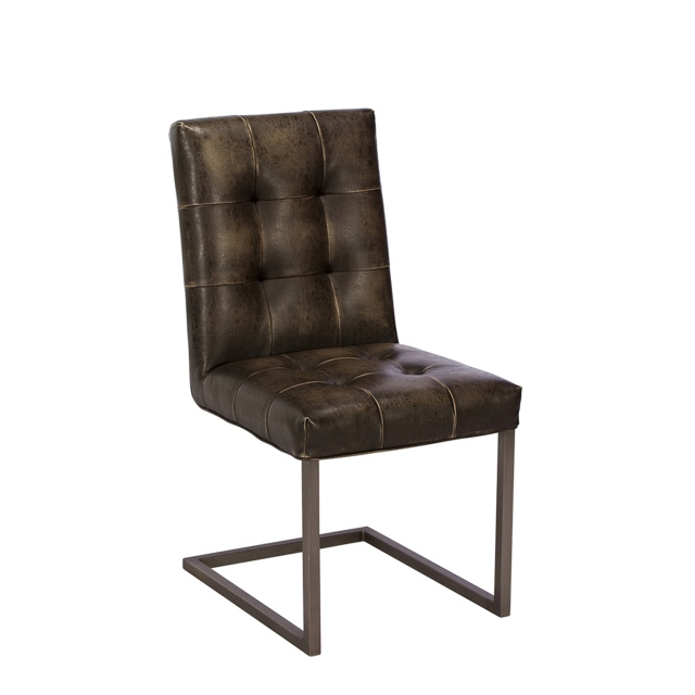 Nevada - Dining Chair In Vintage Brown
