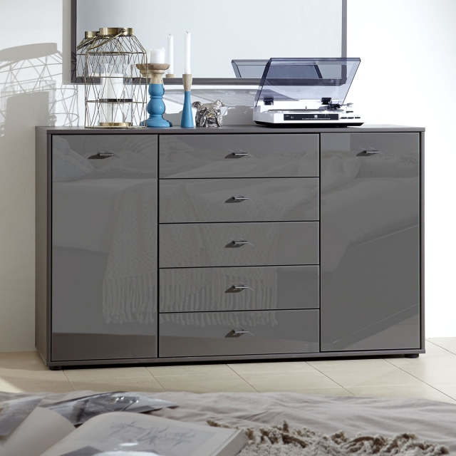 Delano - 40cm 3 Drawer Night Cabinet