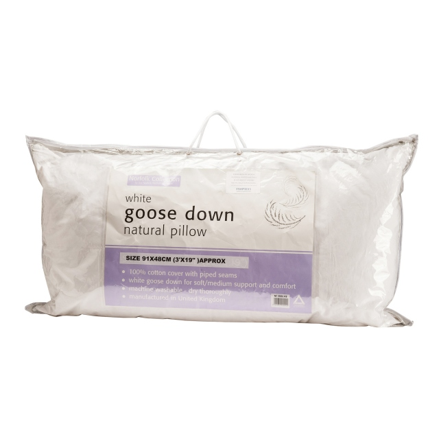 European Goose Down Pillow King