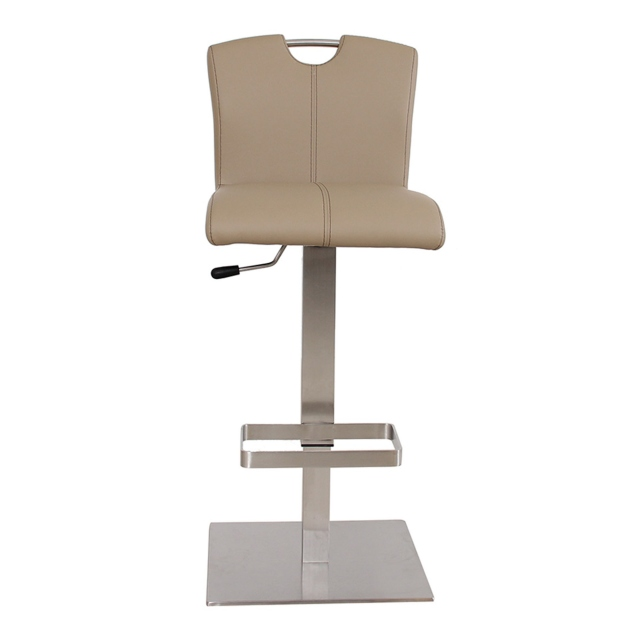 Rockdale - Bar Stool With Frame 55 In Taupe