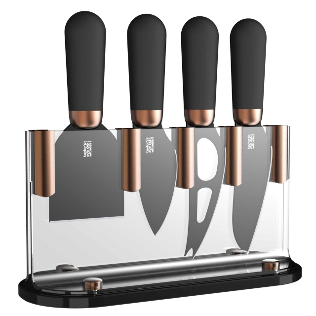 Brooklyn Copper Set 4 Cheese Knives