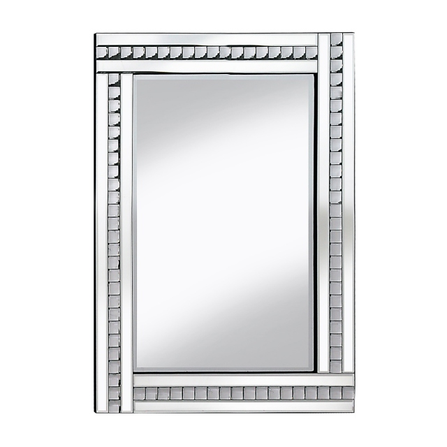Florence Mirror - Silver - 60 x 80cm