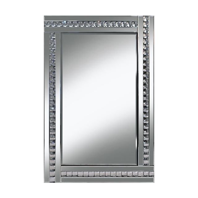 Florence Mirror - Silver - 120 x 80cm