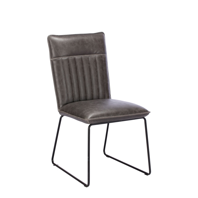 Copper - Dining Chair In Grey
