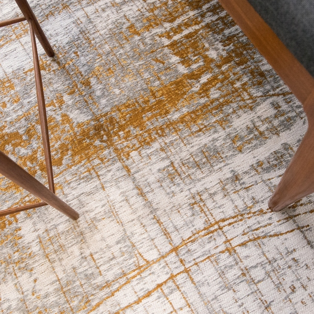 Mad Men Rug 8419 Columbus Gold