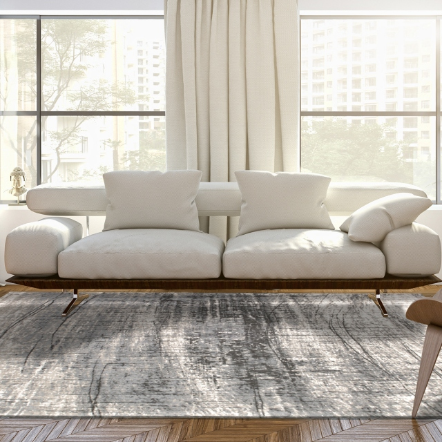 Mad Men Rug 8420 Jersey Stone