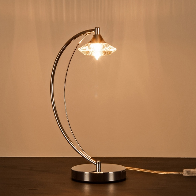 Lena Table Lamp Chrome
