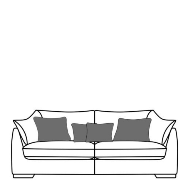 Infinity - 2 Seat Sofa In Fabric A