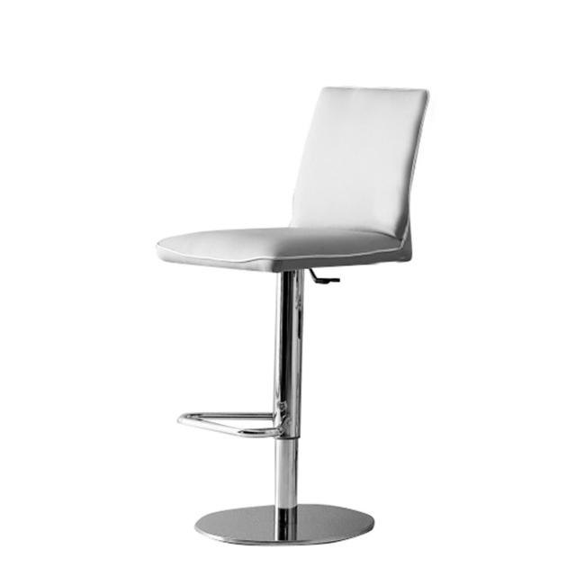 Nata - Barstool Swivel Height Adjustable Chrome