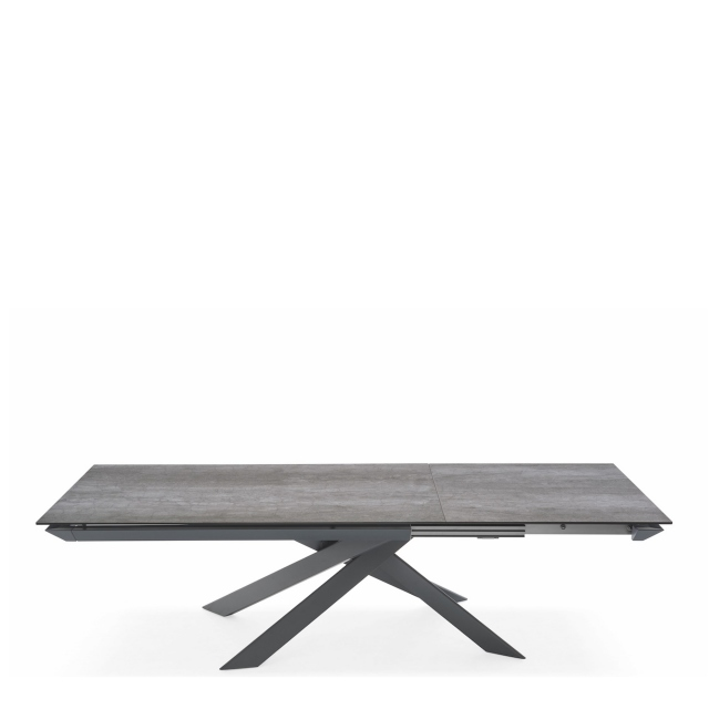 Calligaris Eclisse - CS/4102 Ext Table P1C Cement Ceramic Top 180 x 100cm Extends To 280cm