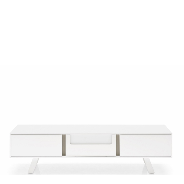Calligaris Secret - CS/6053-6 Entertainment Unit P94 Matt Optic White