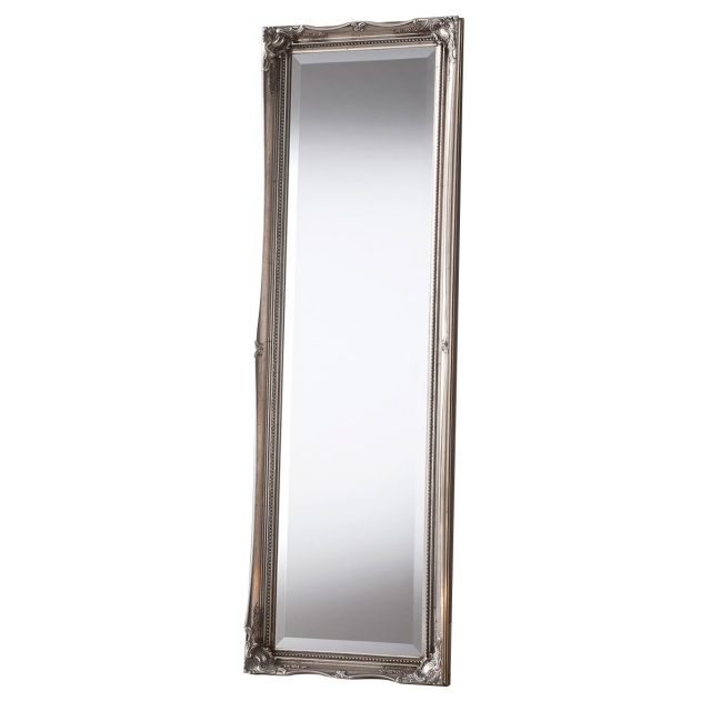 Paris Leaner Mirror Silver