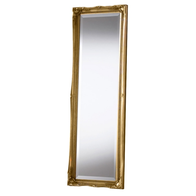Paris Leaner Mirror Gold