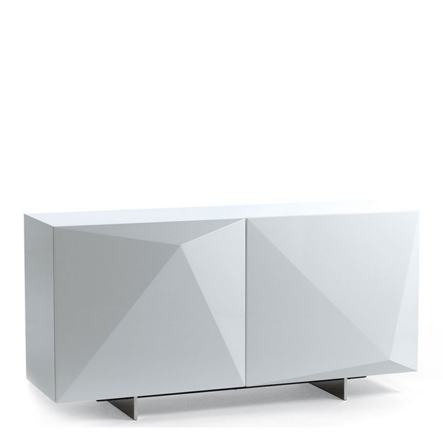 Cattelan Italia Kayak - 2 Door Sideboard In White Gloss
