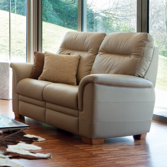 Parker Knoll Hudson Leather - Manual Recliner Armchair
