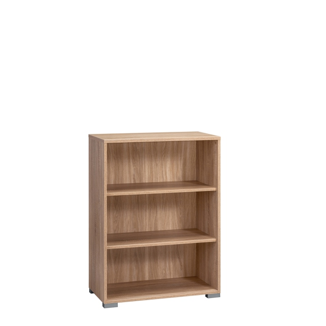 Vega - 2 Shelf Wide Bookcase