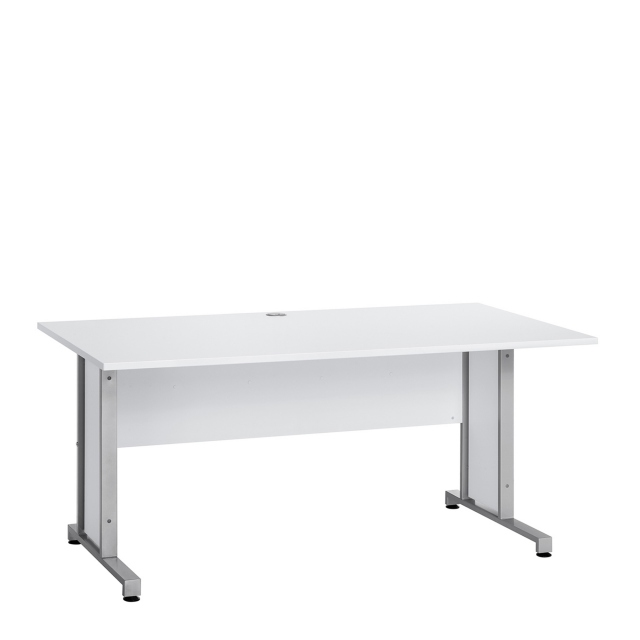 Vega - 160cm x 80cm Desk Complete With Metal Feet