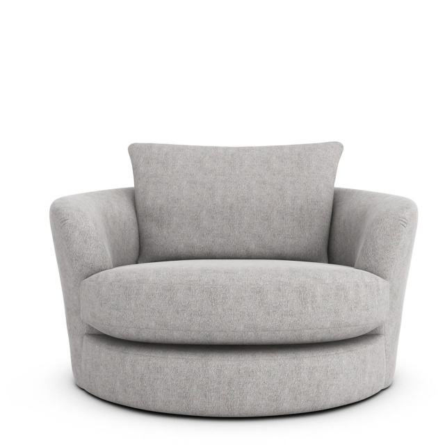 Swivel Cuddler Chair