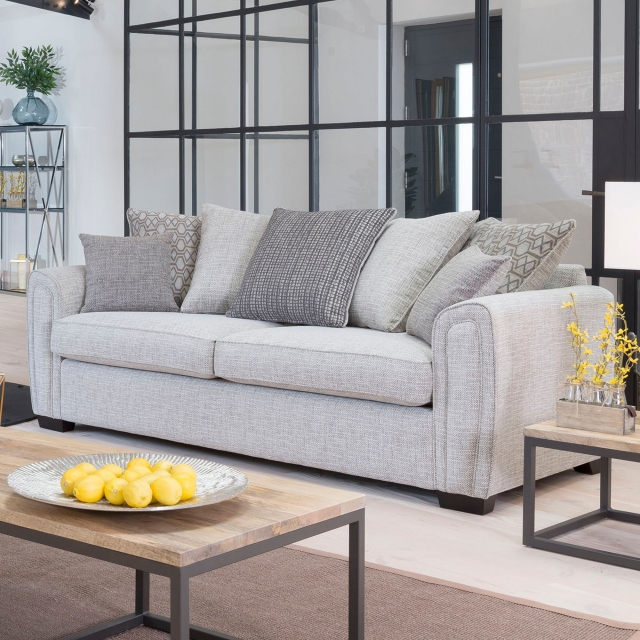 Seville - Grand Pilow Back Sofa