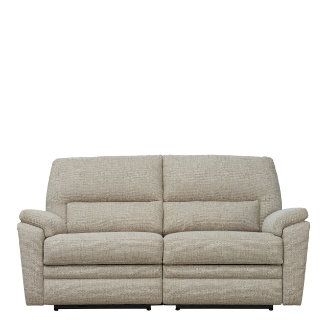 Parker Knoll Hampton Fabric - Double Power Recliner 2 Seat Sofa Single Motor