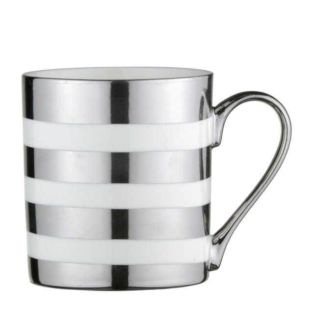 Stripes - Mug Platinum