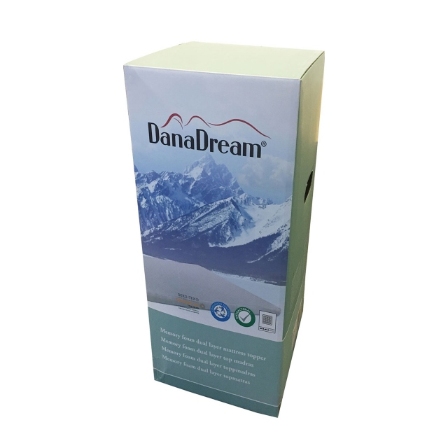 DanaDream Memory Foam Mattress Topper