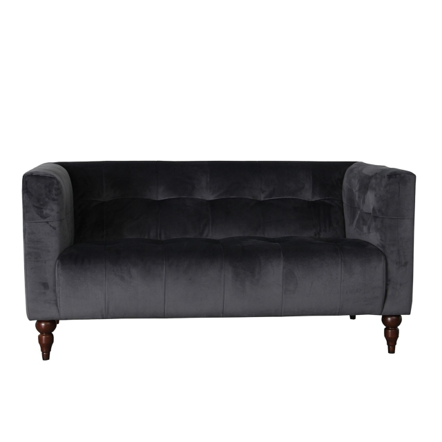 Cosenza Wooden - 2 Seat Sofa In Fabric BSF30