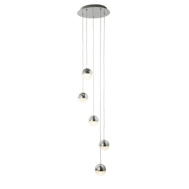 Global 5 LED Cascade Pendant