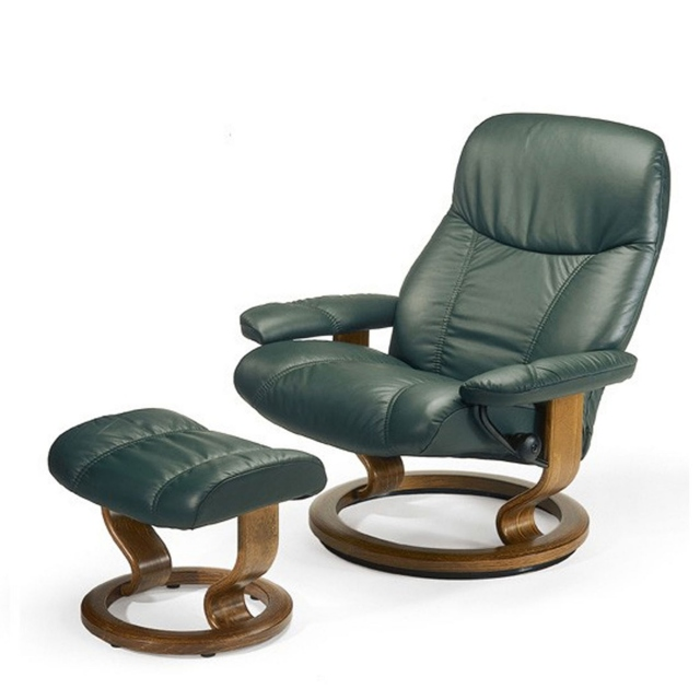 Stressless Consul Large - Chair & Stool