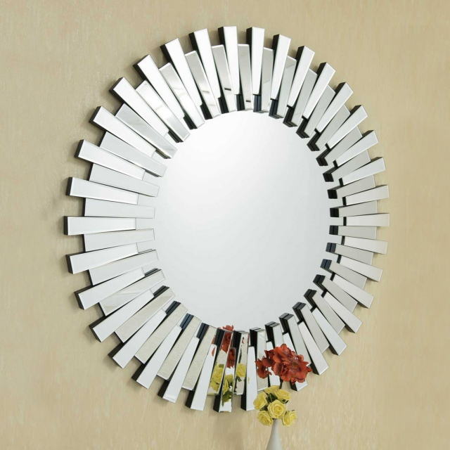Eclipse Round Mirror