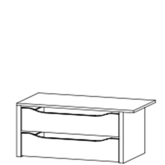Reflection - 2 Drawer Left/Right Unit