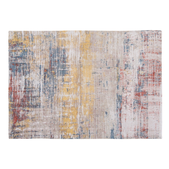 Atlantic Collection Streaks Rug 8714 Montauk Multi 280 x 360cm