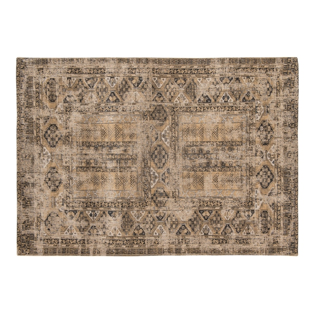 Antiquarian Antique Hadschlu Rug - 8720 Agha Old Gold