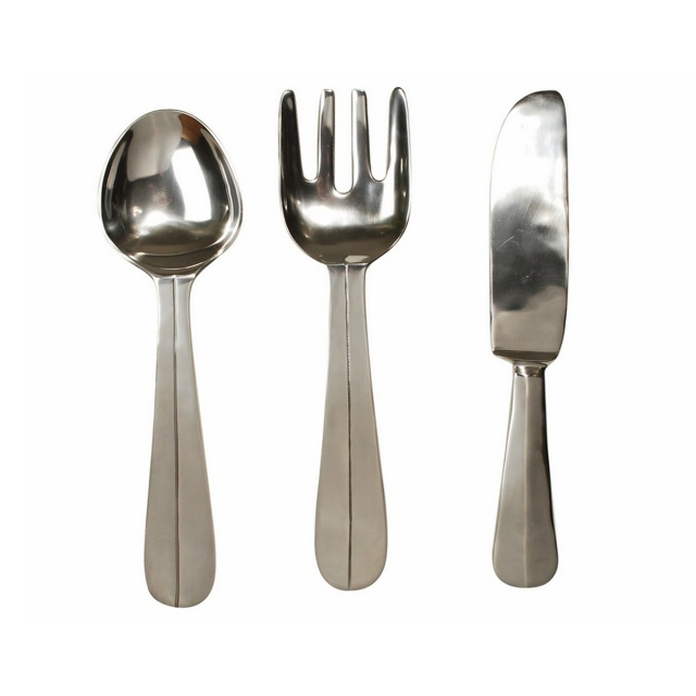 Cutlery Wall Art Set